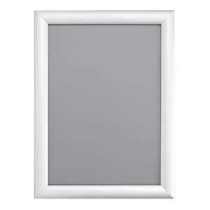"VIZ-PRO A1 Silver Snap Frames / Clip Frames, Mitred Corner, 0.98"" Aluminium Profile"