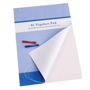 VIZ-PRO Standard Easel Pads, A1 Flip-chart Paper Pad, 25-Sheets