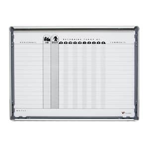 VIZ-PRO A2 Magnetic In Out Board Snap Frame/Planner Board Poster Frame