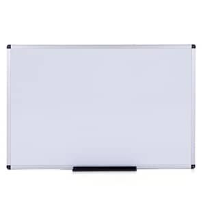 VIZ-PRO Magnetic Dry Erase Weekly Planner, Silver Aluminium Frame