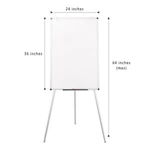 VIZ-PRO Light Magnetic Tripod Whiteboard/Flipchart Easel