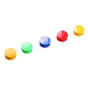 VIZ-PRO Magnets, Assorted Colors, 26 per Tub